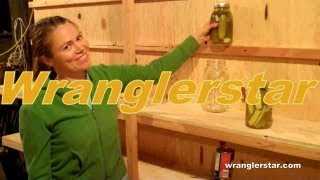 How To Prepare For Hard Times Emergency Food Storage Root Cellar pt 1