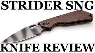 Strider SnG Knife Review