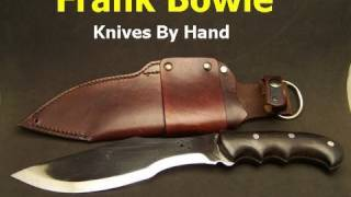 The Frank Bowie Survival Knife